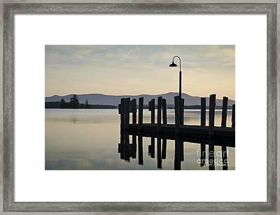 Glendale Docks No. 2 Framed Print by David Gordon
