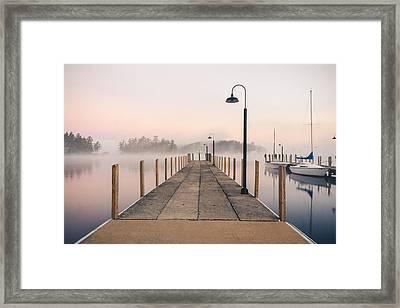 Glendale Docks Framed Print
