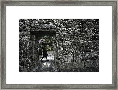 Glendalough Ireland Framed Print by Sean Weaver