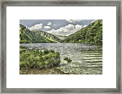 Glendalough Upper Lake Framed Print