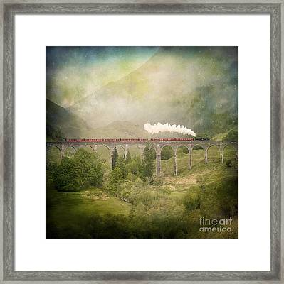 Framed Print featuring the photograph Glenfinnan by Roy  McPeak
