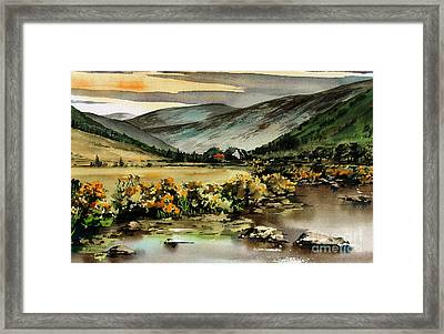 Glenmalure  Valley Framed Print