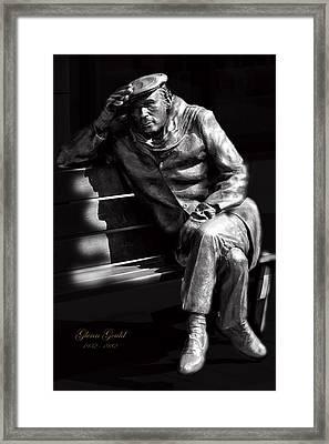 Glenn Gould Framed Print