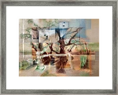 Glennvangoghscape 2014  Framed Print
