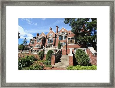 Glensheen Mansion Exterior Framed Print