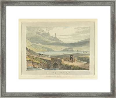 Glenvargle Bridge Framed Print by British Library