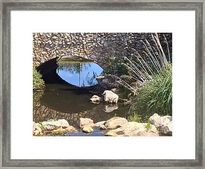 Glenview Brook Framed Print by Jim Hubbard