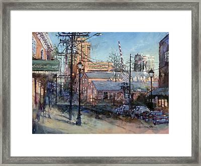 Glenwood And Jones Framed Print