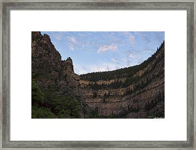 Glenwood Canyon Framed Print