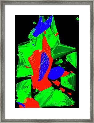 Glial Cells Framed Print by R. Bick, B. Poindexter, Ut Medical School