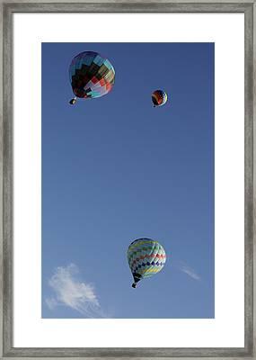 Glide Framed Print by Luke Moore