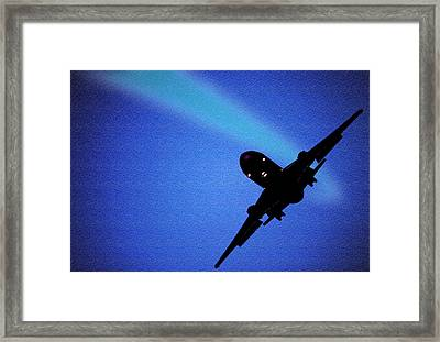Glide Path Framed Print