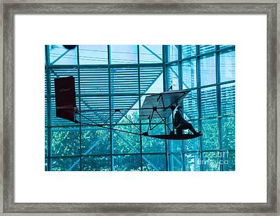 Glider Framed Print by Rich Priest