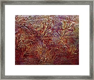 Framed Print featuring the painting Gliding Over Fall by D Renee Wilson