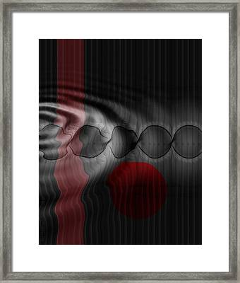 Gliding Through An Echo Framed Print by Mimulux patricia no No