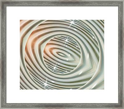 Glimmer 1 Framed Print by Wendy J St Christopher