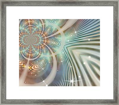 Glimmer 2 Framed Print by Wendy J St Christopher