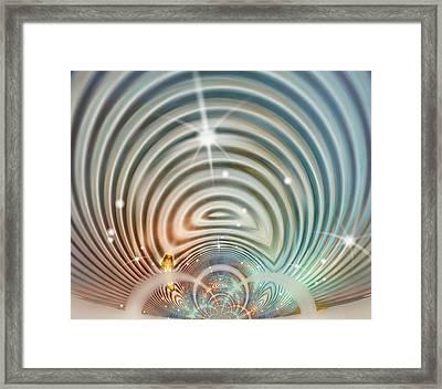 Glimmer 3 Framed Print by Wendy J St Christopher