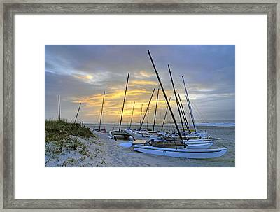 Glimmer Of Hope Framed Print