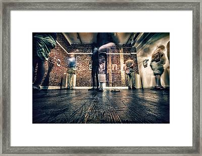 Framed Print featuring the photograph Glimpse by Joshua Minso