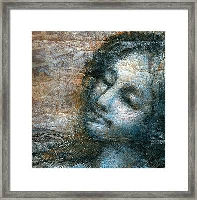 Glimpse Of An Angel Framed Print