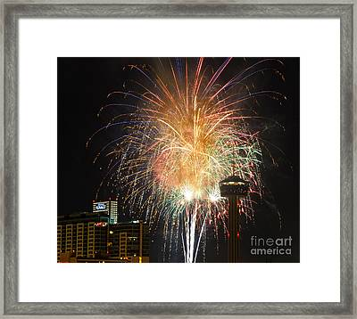 Glitter In The Sky Framed Print