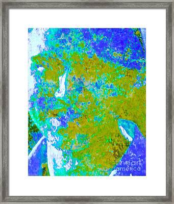 Global Climate Change #2 Pangeae Evolves Framed Print by Kasha Baxter