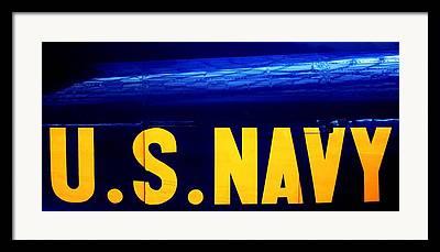 Navy Jets Framed Prints