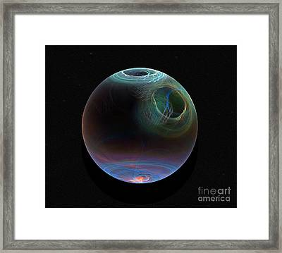 Global Warming Framed Print by Peter R Nicholls