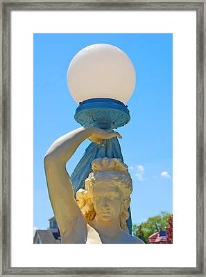 Globe Framed Print
