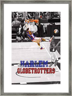 Globetrotters Super Slam Framed Print