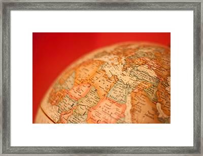 Globetrotting Framed Print by Richie Stewart