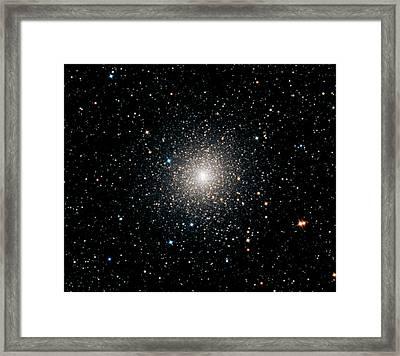 Globular Cluster Ngc 2808 Framed Print by Damian Peach