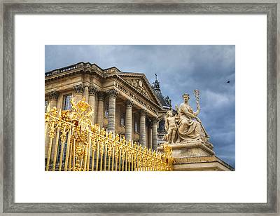 Framed Print featuring the photograph Gloires De La France by Ross Henton