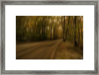 Gloomy Autumn Framed Print by Lourry Legarde