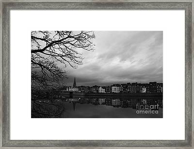 Gloomy Evening Framed Print