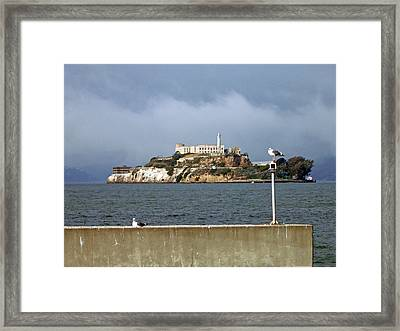 Gloomy Prison Framed Print by Mike Podhorzer