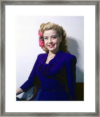 Gloria Dehaven Framed Print