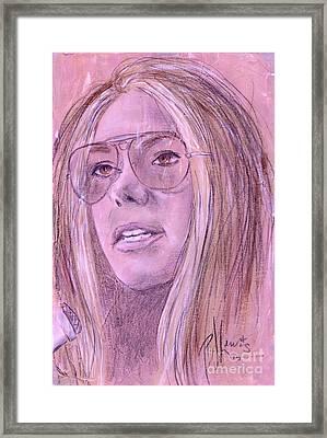 Gloria Steinem Framed Print