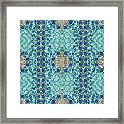 Glorious Blue Framed Print by Helena Tiainen