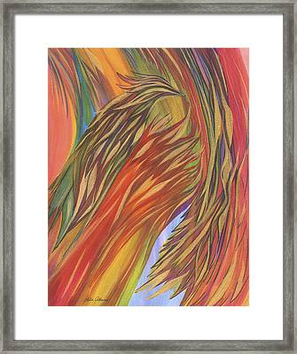 Glorious Breakthrough Framed Print by Lula Adams