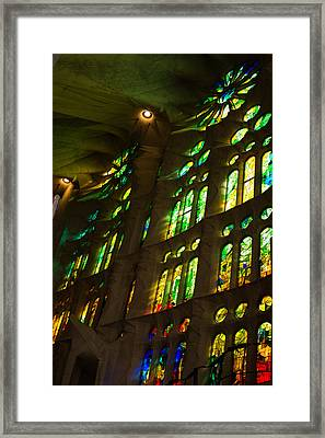 Glorious Colors And Light Framed Print