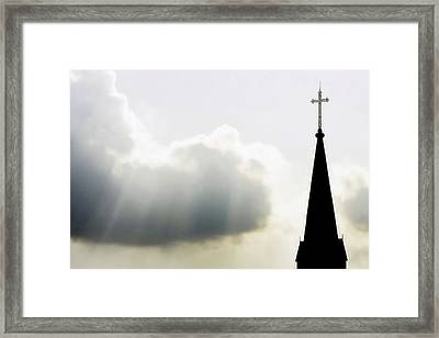 Framed Print featuring the photograph Glorious Day by Charlotte Schafer
