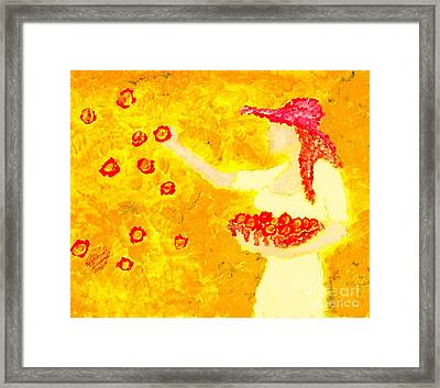 Glorious Mother Eve 1 Framed Print by Richard W Linford