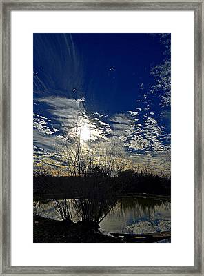 Glorious Reflection Framed Print by Kelly Kitchens