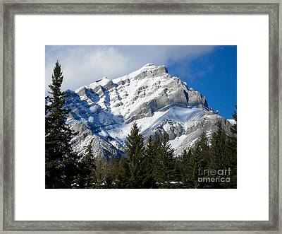 Glorious Rockies Framed Print