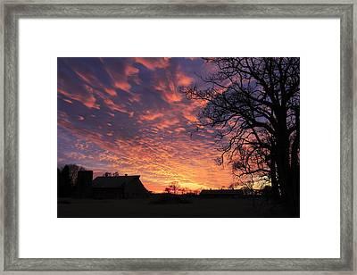 Glorious Sunset Framed Print by Andrea Kappler