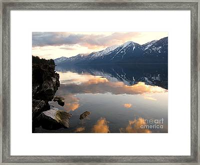 Glorious Sunset Framed Print