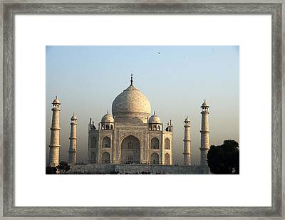 Glorious Taj Framed Print