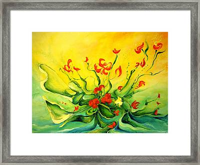 Glorious Framed Print by Teresa Wegrzyn
